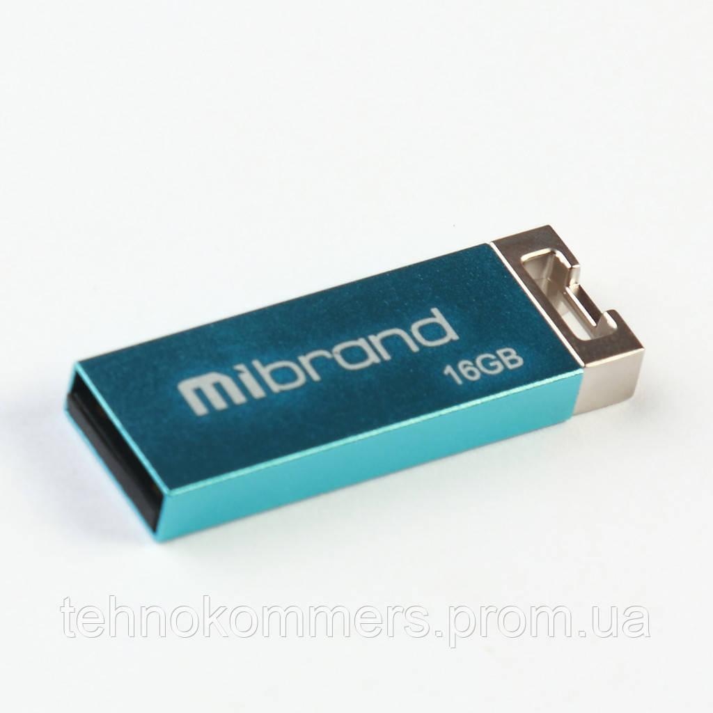 USB 2.0 Mibrand Сhameleon 16Gb Light blue
