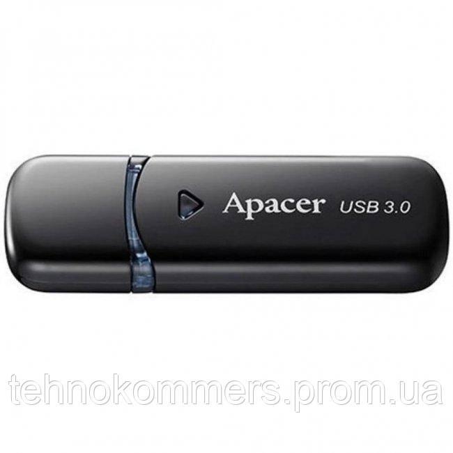 Флеш-накопичувач Apacer USB3.0 AH355 32GB Black, фото 2