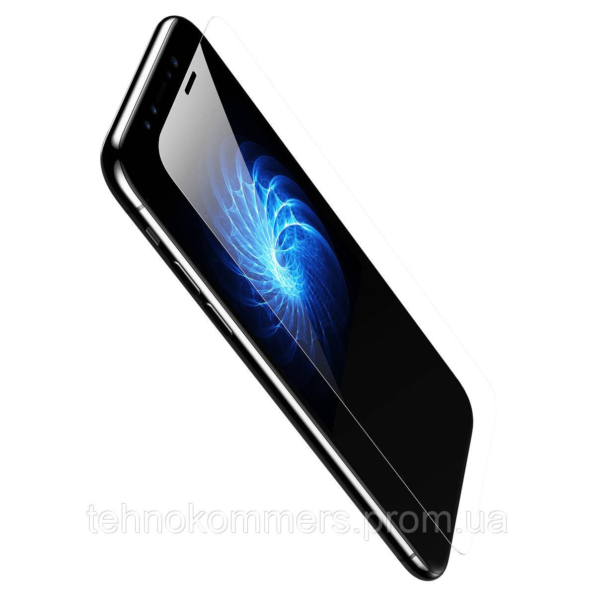 Захисне скло Baseus 0.15 mm Non-full Tempered Glass Film for iPhone X