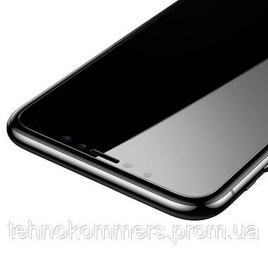 Захисне скло Baseus 0.15 mm Non-full Tempered Glass Film for iPhone X, фото 2