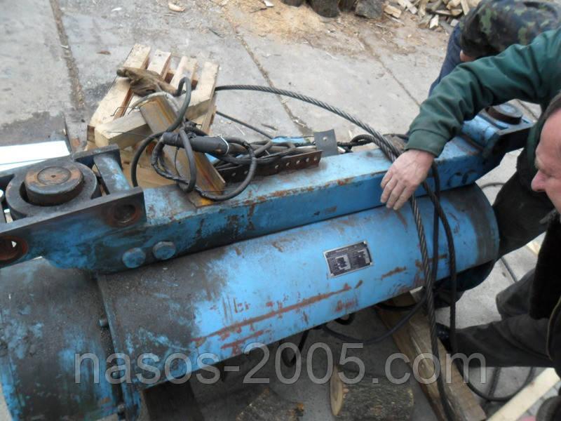 Ремонт тельфера вантажопідйомністю 3,2 т висотою підйому від 6м до 36м виробництва Болгарії з гарантією