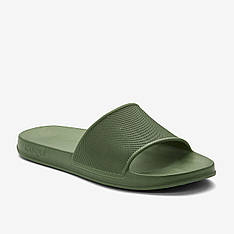 Шлепанцы TORA, мужские шлепанцы Coqui (темно-зеленые)