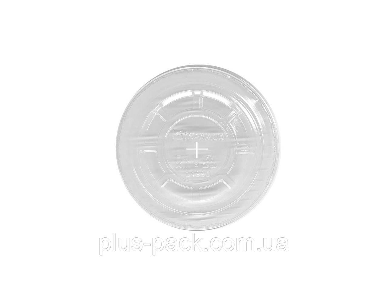Купольна кришка ПЕТ з отвором для склянок: 300мл, 420мл, 500мл.