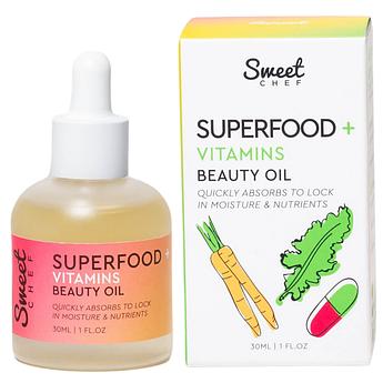 Витаминное масло для кожи лица Sweet Chef Superfood + Vitamins Beauty Oil 30 мл