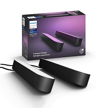 Philips Hue Play Light Bar 2 шт. (Apple HomeKit) Черный цвет