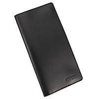 Кошелек мужской кожаный большой на магнитах Handycover HC0079 черный, фото 1