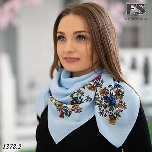 Платки цветочные кашемировые
