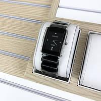 Женские часы Rado Integral All Diamonds Silver-Black. Женские кварцевые часы Rado. Часы женские. Часы
