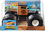 Hot Wheels Monster Truck Boneshaker Внедорожник хот вилс Монстер Трак Монстер Джем Monster Jam джип, фото 3