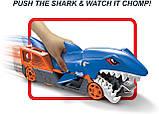 Hot Wheels Shark Chomp Transporter Хот Вилс автовоз транспортер трейлер акула Хот Вілс, фото 4