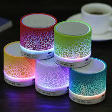 Беспроводная Портативная Колонка Мини S-60 с ПОДСВЕТКОЙ Bluetooth с MP3, AUX USB FM-pадио блютуз 100% КАЧЕСТВО