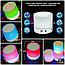 Беспроводная Портативная Колонка Мини S-60 с ПОДСВЕТКОЙ Bluetooth с MP3, AUX USB FM-pадио блютуз 100% КАЧЕСТВО, фото 7