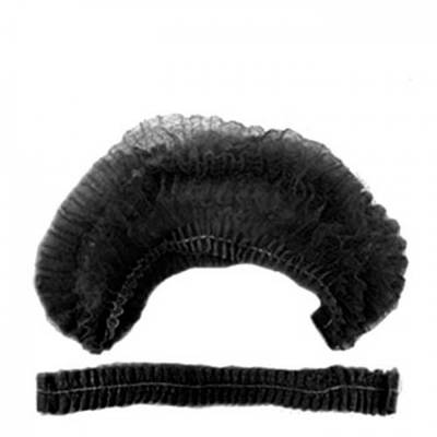 Одноразова шапочка 100 шт Чорний