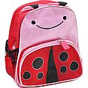 Дитячий дошкільний рюкзак у вигляді тварин Божа корівка, фото 2