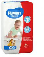 Подгузники Huggies Classic 4, 7-16 кг, 14 шт. (5029053543123)