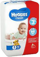 Подгузники Huggies Classic 3, 4-9 кг, 16 шт. (5029053543086)