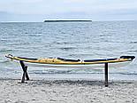 Каяк морський з рульовим управлінням SeaBird Nansen жовтий, фото 4