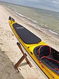 Каяк морський з рульовим управлінням SeaBird Nansen жовтий, фото 6