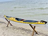 Каяк морской с рулевым управлением SeaBird Nansen желтый