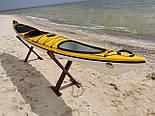 Каяк морський з рульовим управлінням SeaBird Nansen жовтий, фото 8