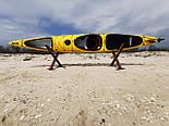 Каяк морський з рульовим управлінням SeaBird Nansen жовтий, фото 7