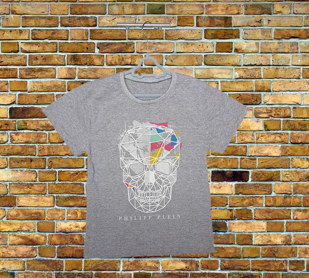 Серая подростковая футболка