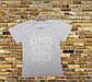 Серая подростковая футболка, фото 2