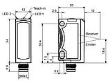 FT 25-RGB1-2GSL-M4M Датчик контрасту, фото 2