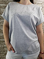 Женская футболка батал новинка 2021