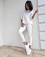 Женский весенний модный костюм с брюками новинка 2021