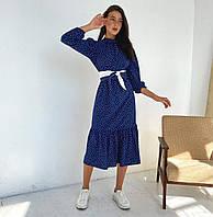 Женское платье в горох новинка 2021