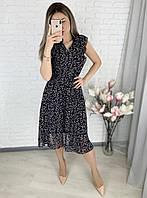 Платье летнее в цветочек новинка 2021