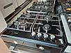 Варильна панель Fabiano FHG 10-44 VGH-T Black Glass (чорне скло) газова, фото 3