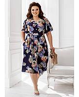 Платье летнее легкое ,платья летние батал новинка 2021