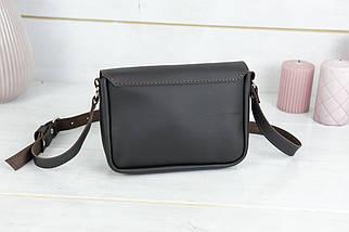 Сумка женская, Кожаная сумочка Мия, кожа Grand, цвет Шоколад, фото 2