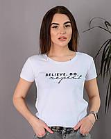 Женская футболка с принтом новинка 2021