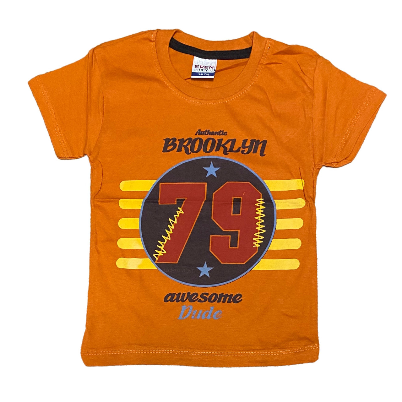Детская футболка для мальчиков, 116см