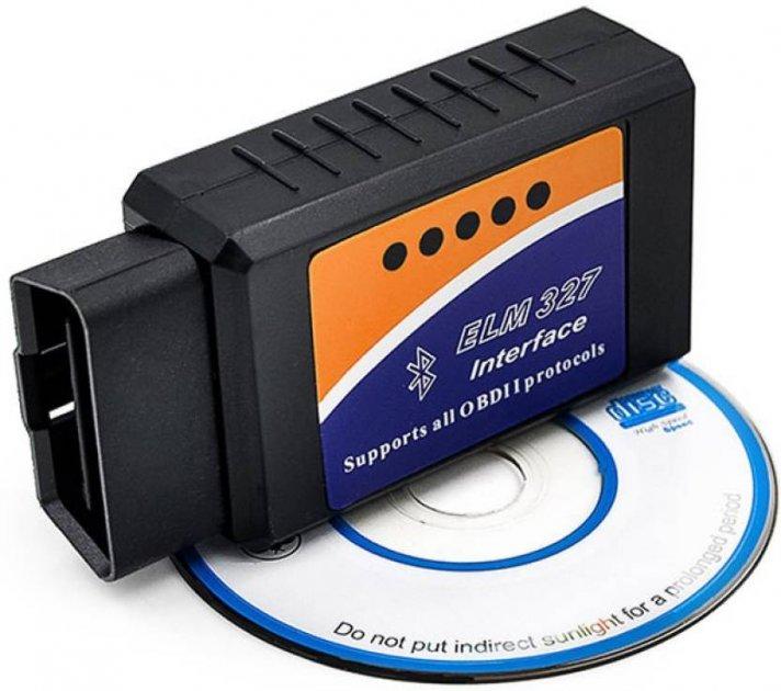 Діагностичний OBD2 автосканер адаптер ELM327 Wifi v1.5, підтримка IOS і Android
