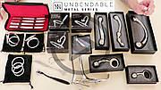 Холодный металл игрушек для BDSM от бренда Sinner Gear Unbendable - новинки на складе