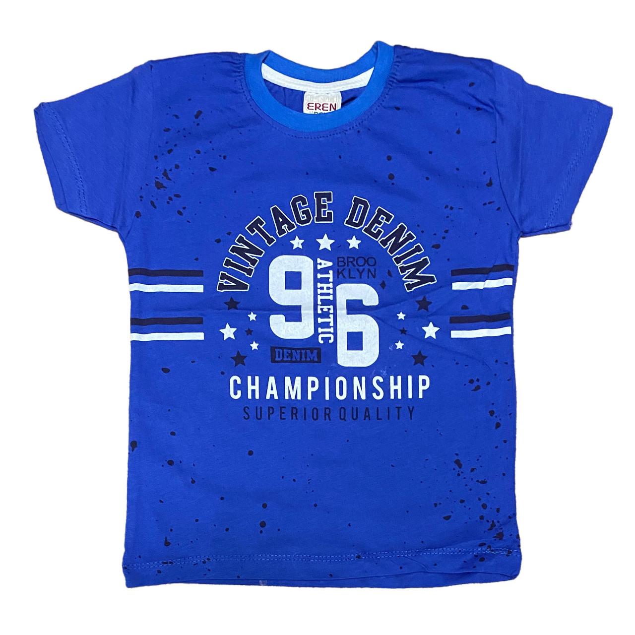 Дитяча футболка для хлопчиків, 122см