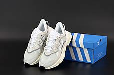 Чоловічі кросівки Adidas Ozweego. Рефлектив. Beige бежевий.. ТОП Репліка ААА класу., фото 3