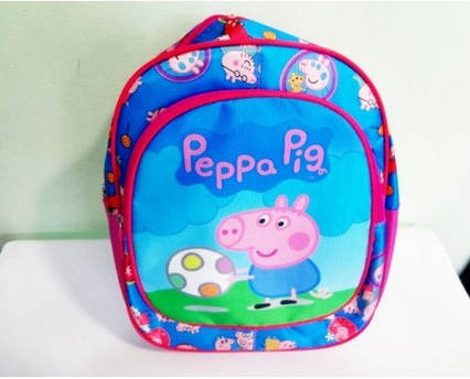 Маленький дитячий рюкзачок для дівчинки і хлопчика Свинка Пеппа для дитячого садка, дошкільний рюкзак від 3