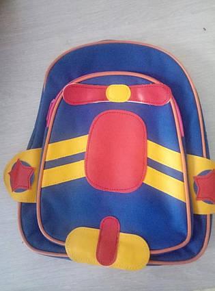 Маленький дитячий рюкзачок для малюків Baby Tilly тварини для дитячого садка, рюкзак, вертоліт