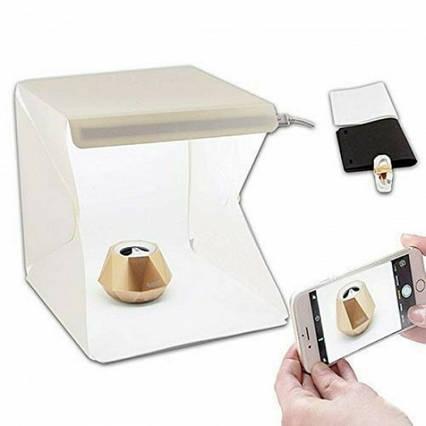 Світловий лайткуб з LED підсвічуванням, Photobox для макрозйомки, Обладнання для предметної фотозйомки 40х40х40см