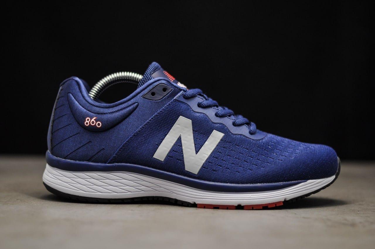 Мужские кроссовки New Balance 890 Navy (синие) T9305