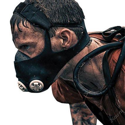 Маска для тренувань обмежувач дихання, Тренувальна маска elevation training mask 2 0, маска для спорту