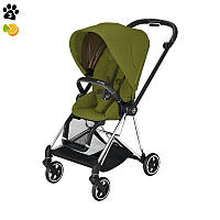 Прогулочная коляска Cybex Mios Khaki Green шасси Chrome Black