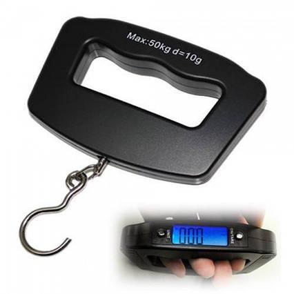 Ваги ручні електронні кантер, Кантер електронний цифровий Handheld Electronic Digital Scale Luggage