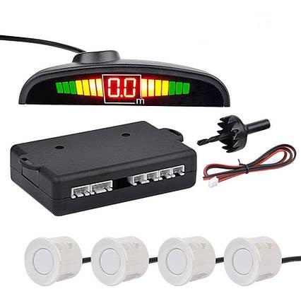 Парктронік (паркувальний радар) на 4 датчика Parking Assistant Sensor PS-201, датчик, система паркування