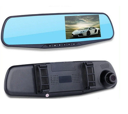 Автомобільний відеореєстратор (автореєстратор дзеркало заднього виду) DVR 138EH з однією камерою
